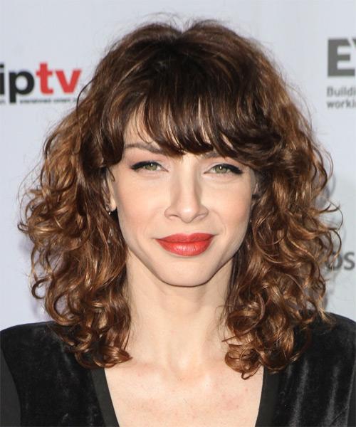 medium curly hairstyles photo - 10