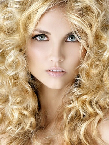 medium curly hairstyles photo - 6