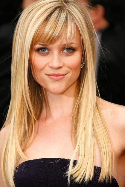 medium hairstyles with bangs for oval face photo - 6