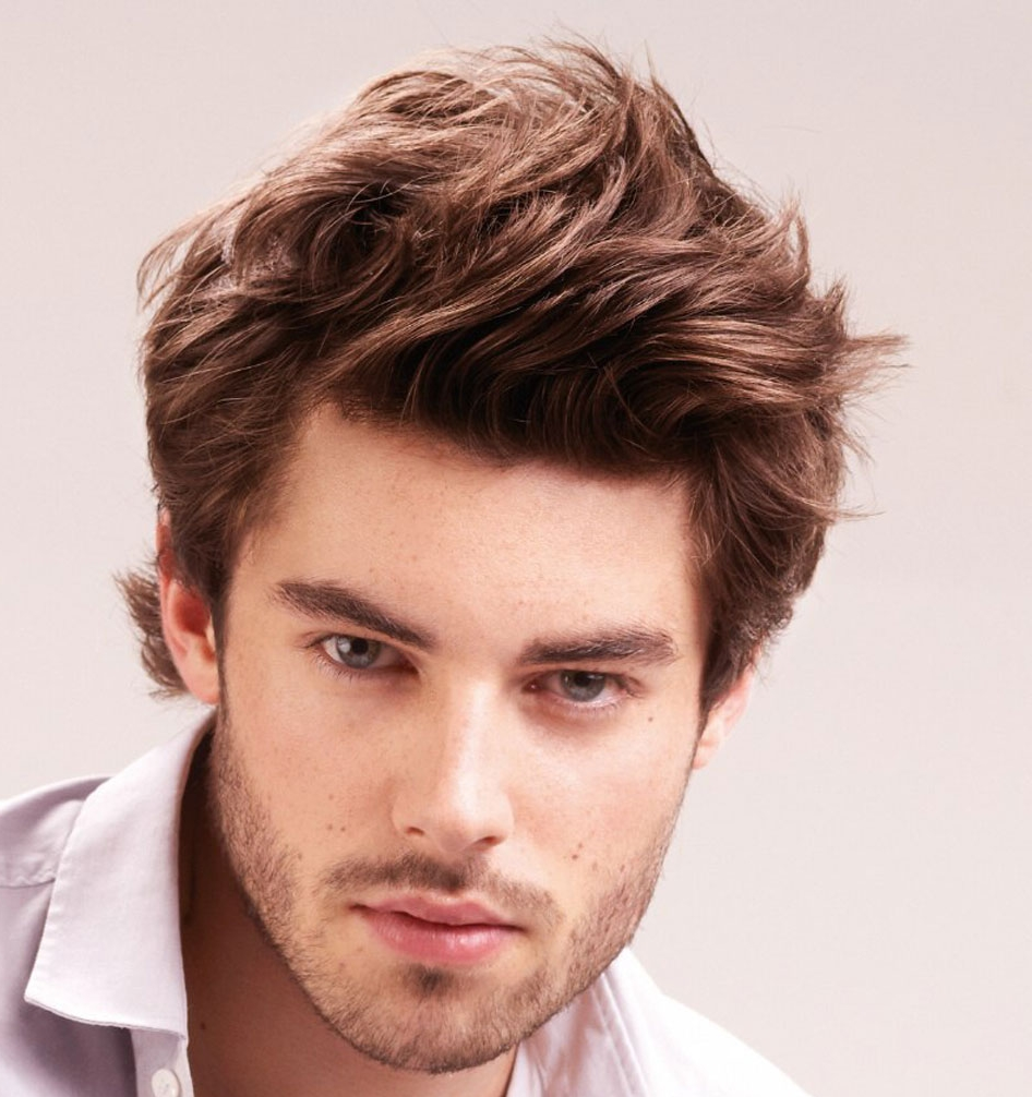 mens medium hairstyles photo - 4