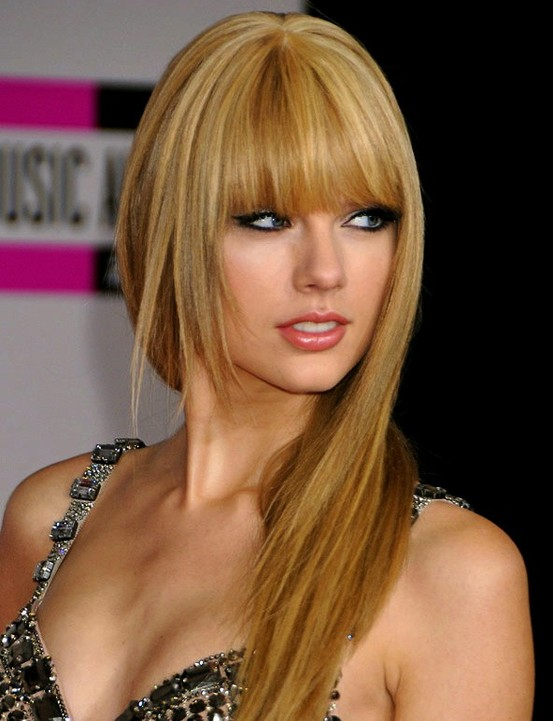 modern hairstyles with bangs photo - 7