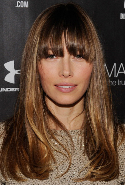 modern hairstyles with bangs photo - 8