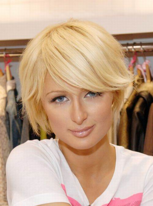 modern hairstyles with bangs photo - 9