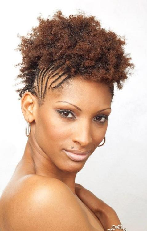 Fantastic Natural Hairstyles For Short Hair With Braids Braids Short Hairstyles For Black Women Fulllsitofus