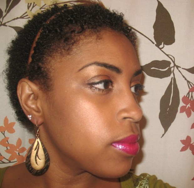 natural hairstyles for short hair photo - 5