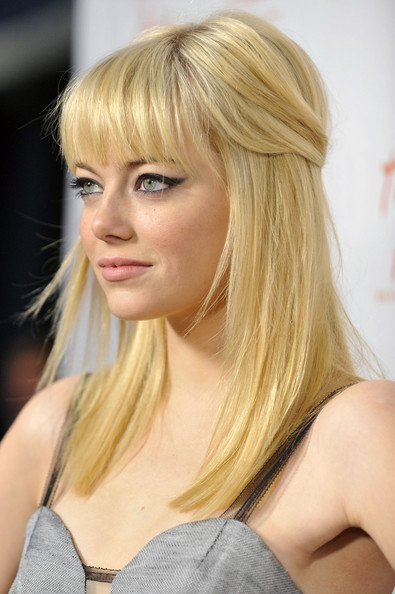 new hairstyles with bangs photo - 10