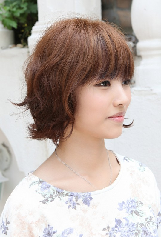 new hairstyles with bangs photo - 6