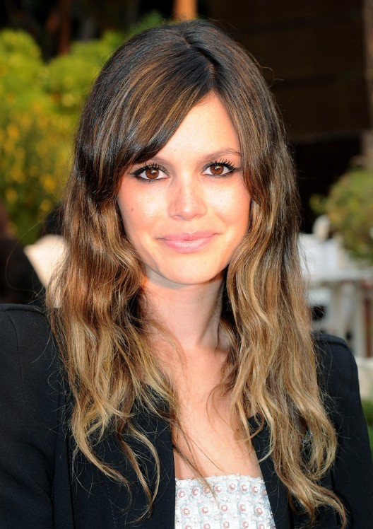 ombre hairstyles with bangs photo - 2