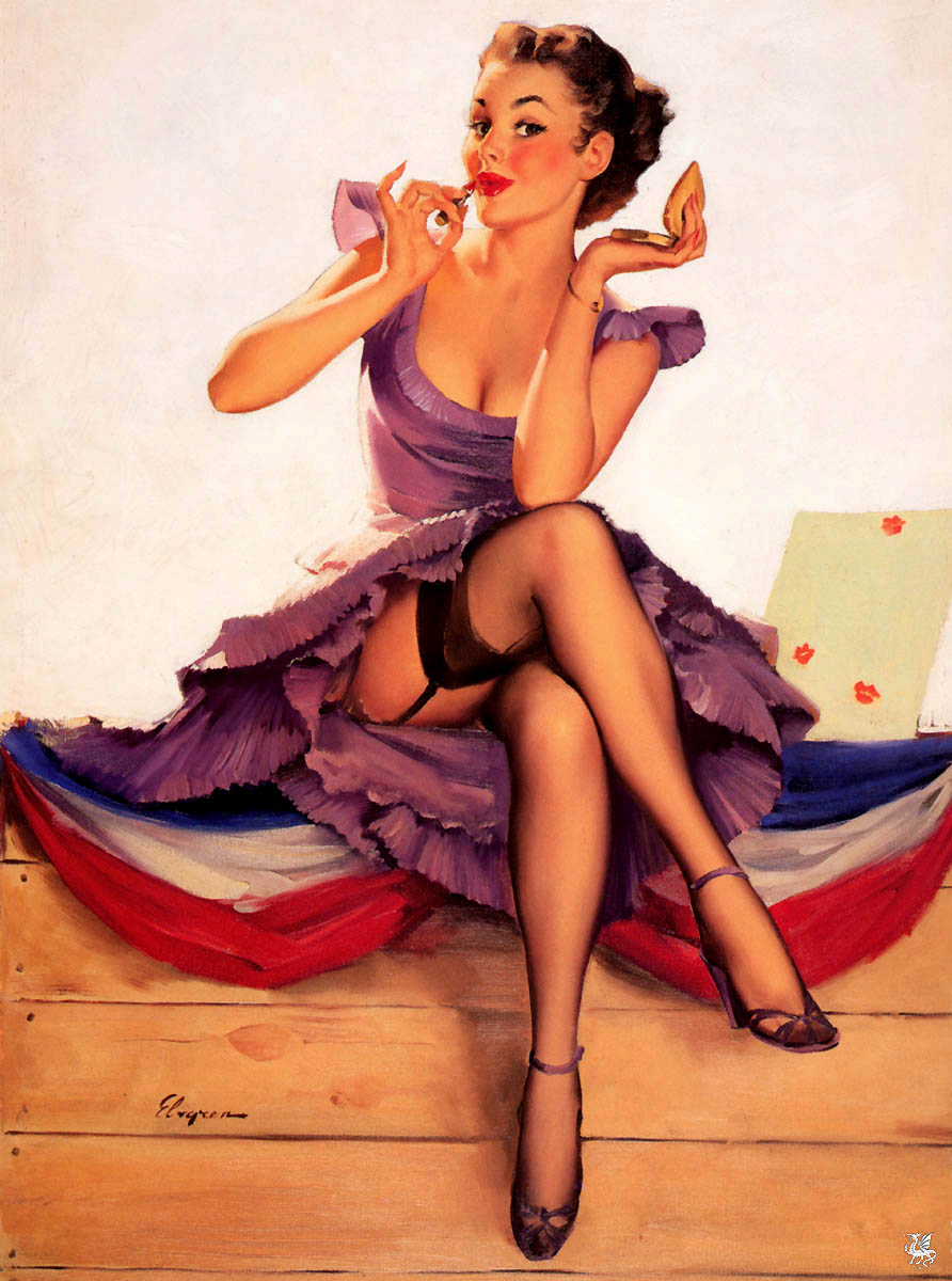 pin up hairstyles photo - 8