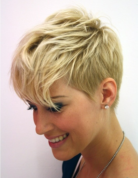 pixie hairstyles for thin hair photo - 4