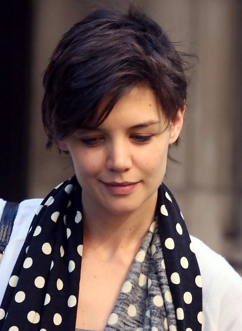 pixie hairstyles with long bangs photo - 1