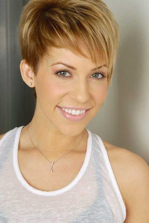 pixie hairstyles with long bangs photo - 5