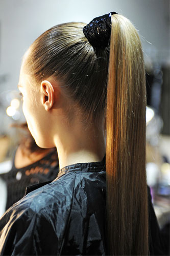ponytail hairstyles photo - 14