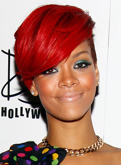 rihanna hairstyles photo - 11