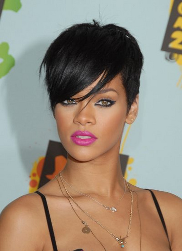 Enjoyable Top 14 Rihanna Hairstyles For Corporate Ladies Hairstyles For Woman Short Hairstyles Gunalazisus