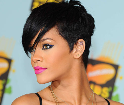 rihanna hairstyles photo - 7