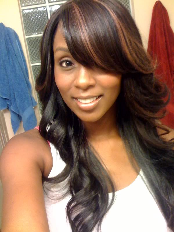 sew in hairstyles photo - 10