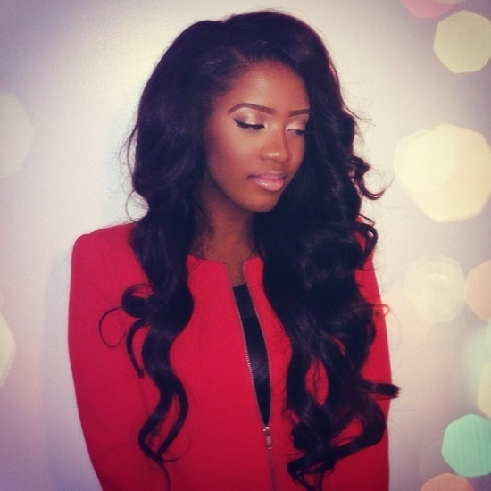 sew in hairstyles photo - 11