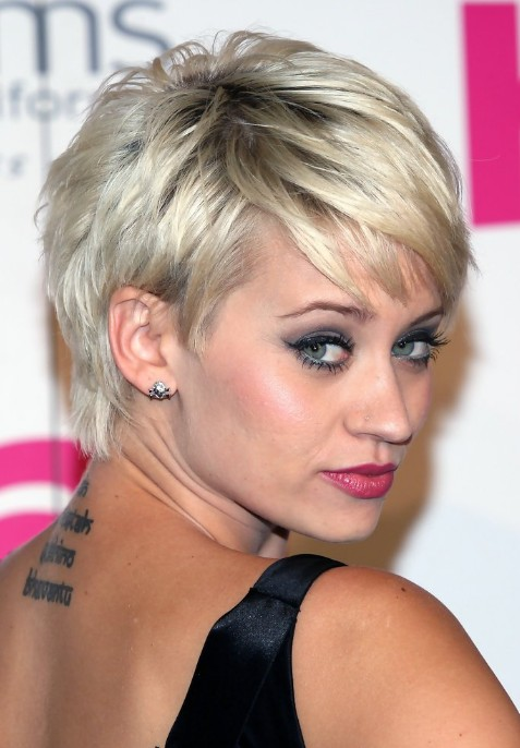 short blonde hairstyles with bangs photo - 10
