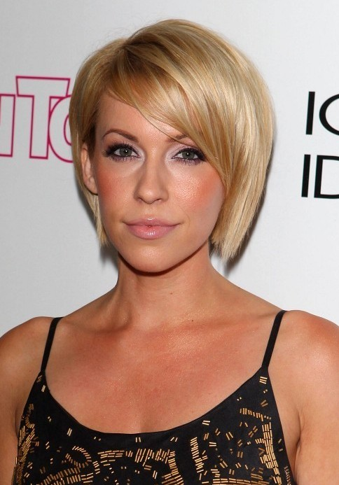 short blonde hairstyles with bangs photo - 7