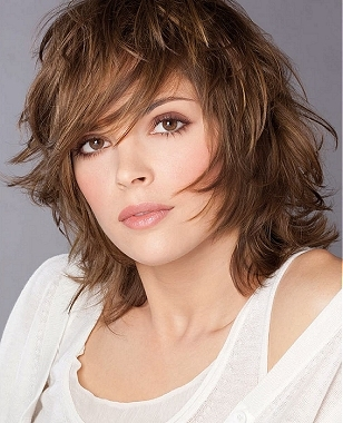 short choppy hairstyles with bangs photo - 4
