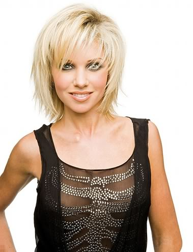 short choppy hairstyles with bangs photo - 5