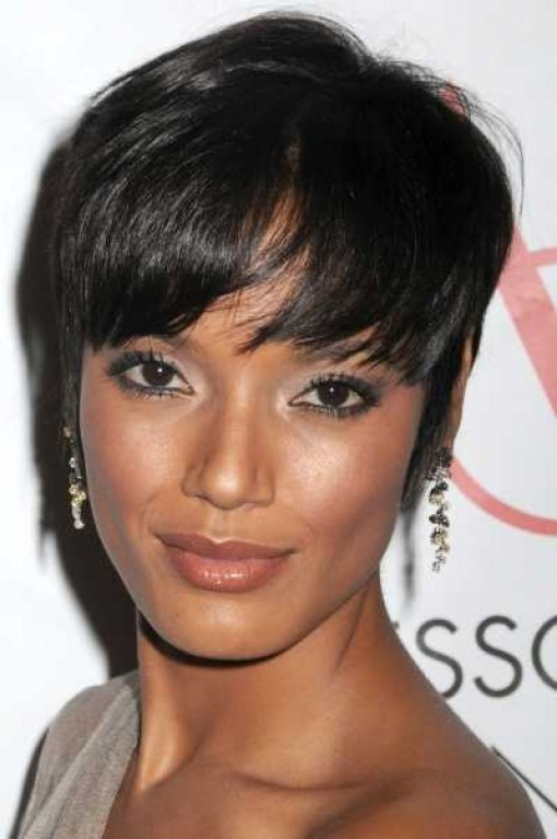 short hairstyles for older black women photo - 5