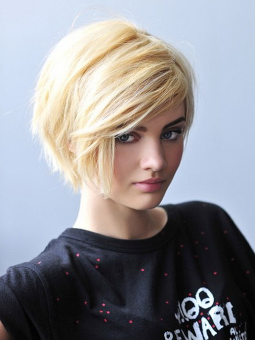 short hairstyles for thick hair photo - 13