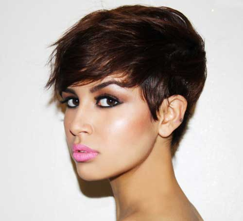 short hairstyles for thick hair photo - 14