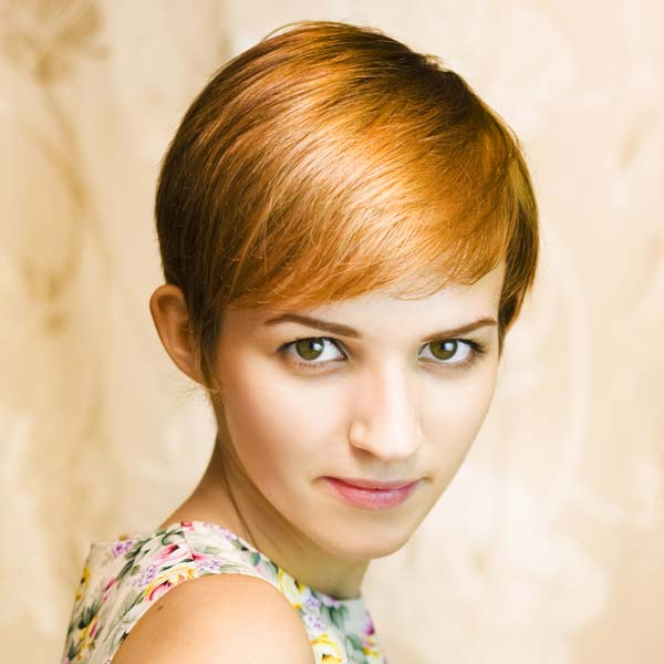 short hairstyles for thick hair photo - 3