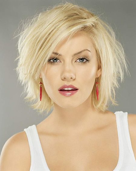 short hairstyles for thick hair photo - 4