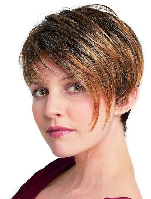 short hairstyles for thick hair photo - 5