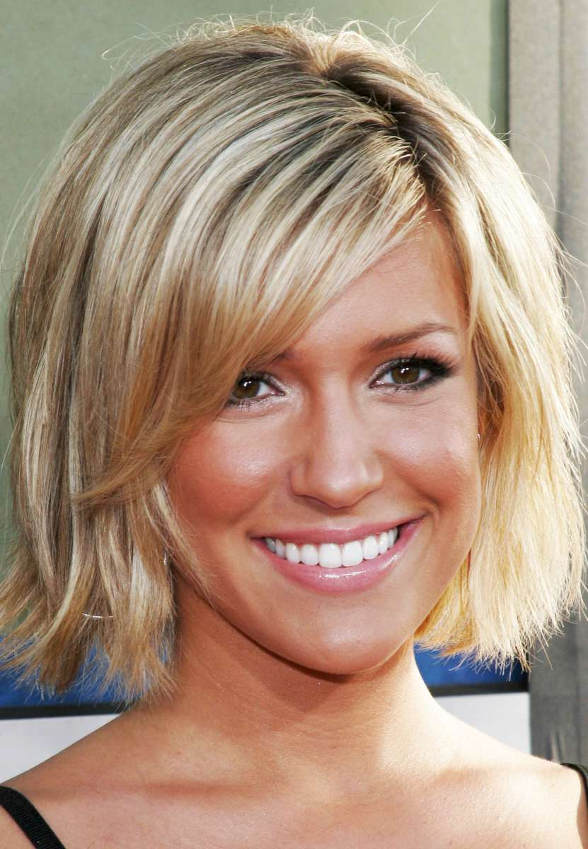 short hairstyles for thick hair photo - 7