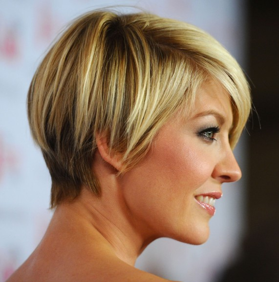 short hairstyles with bangs for round faces photo - 6