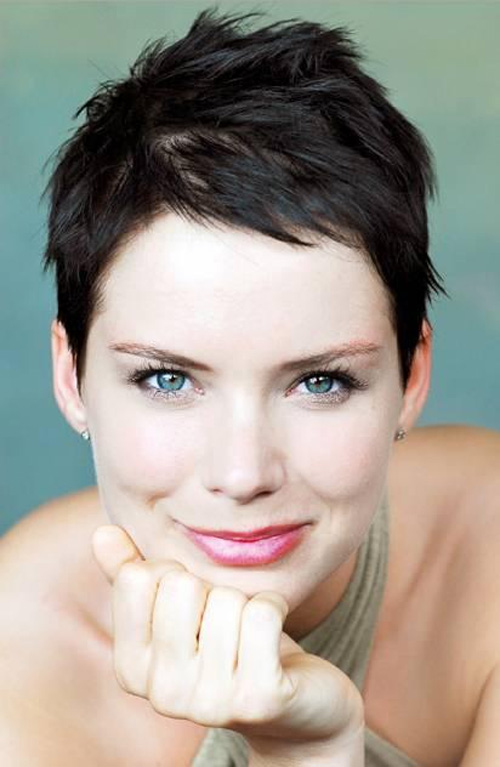 short hairstyles with bangs for round faces photo - 8