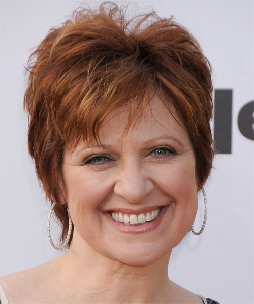 short hairstyles with bangs for round faces photo - 9