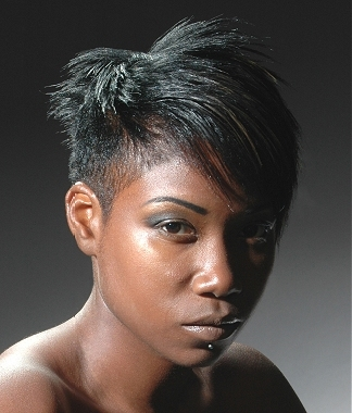 short layered hairstyles for black women photo - 4