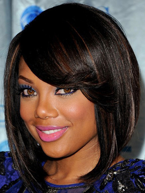 short layered hairstyles for black women photo - 5