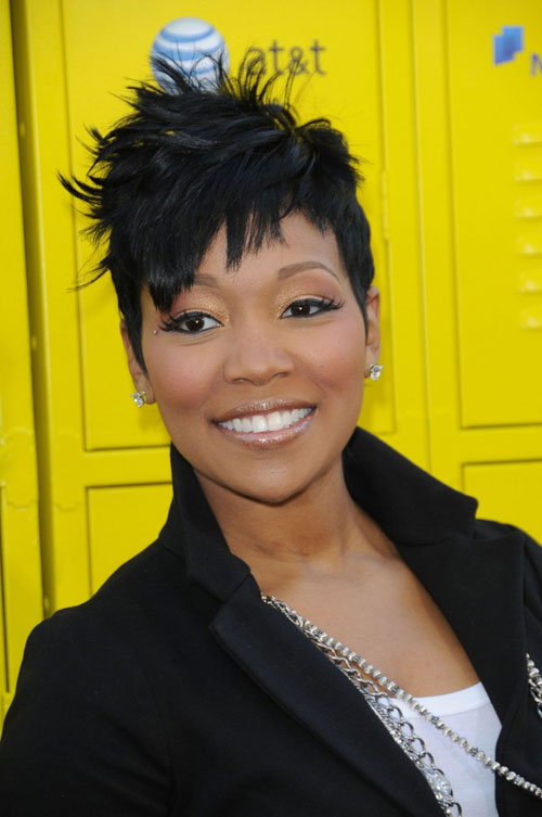 short natural african american hairstyles photo - 4