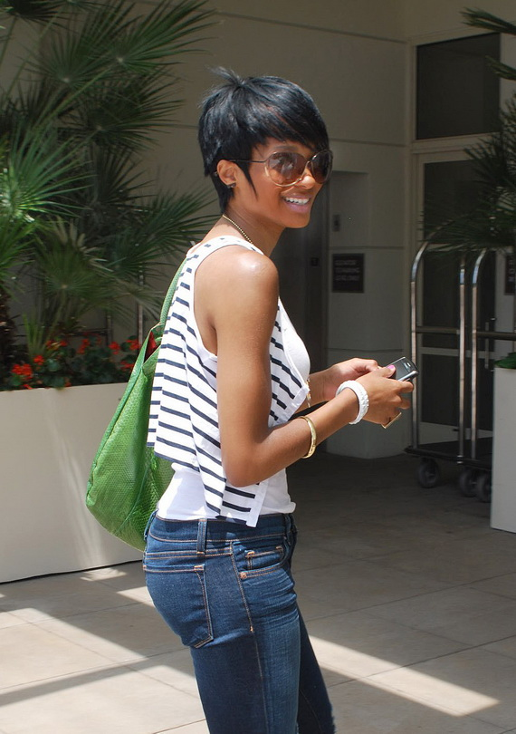 short natural afro hairstyles photo - 10