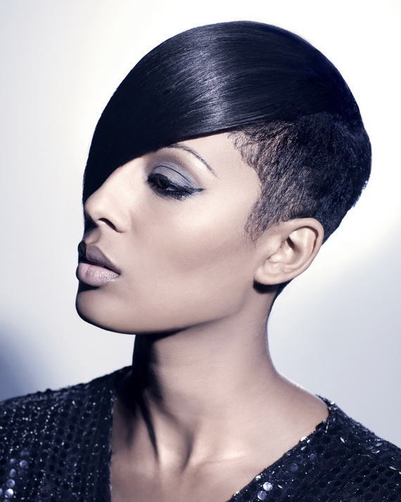 short natural afro hairstyles photo - 3