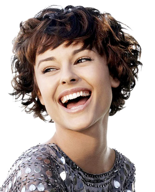 short natural curly black hairstyles photo - 8