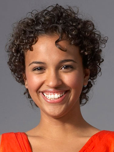 short natural curly hairstyles photo - 5
