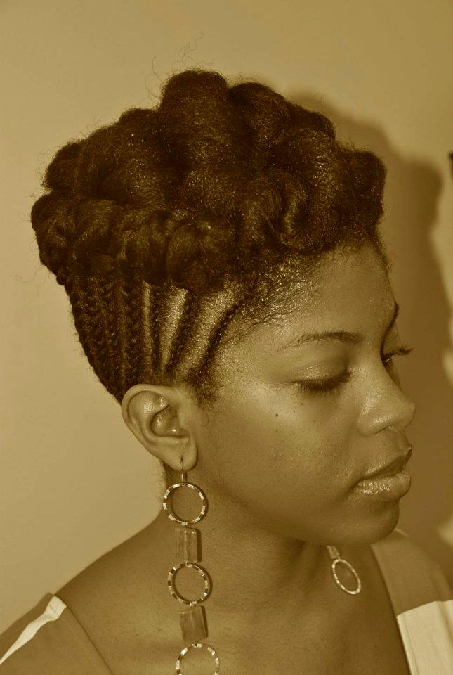 short natural hairstyles for black women photo - 9
