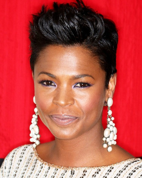 short natural hairstyles for black women with round faces photo - 6