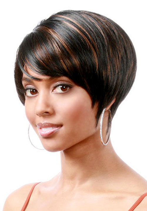 short natural hairstyles for black women with round faces photo - 8