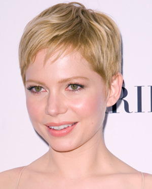 short natural hairstyles for round faces photo - 7
