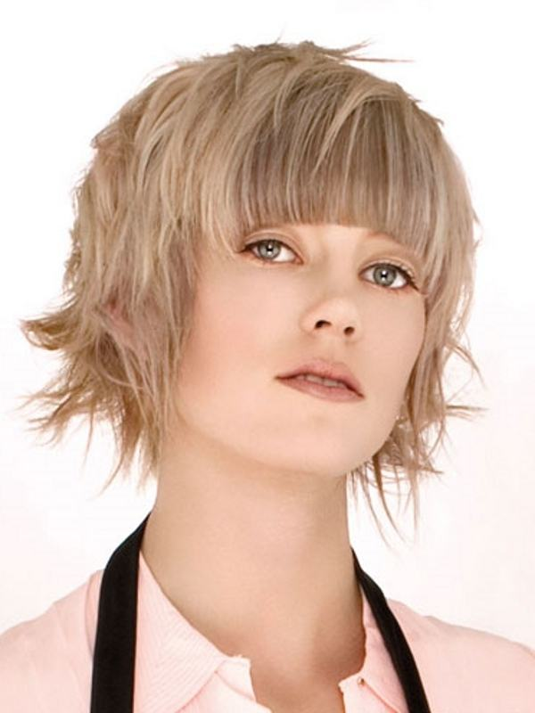 short natural hairstyles for round faces photo - 8