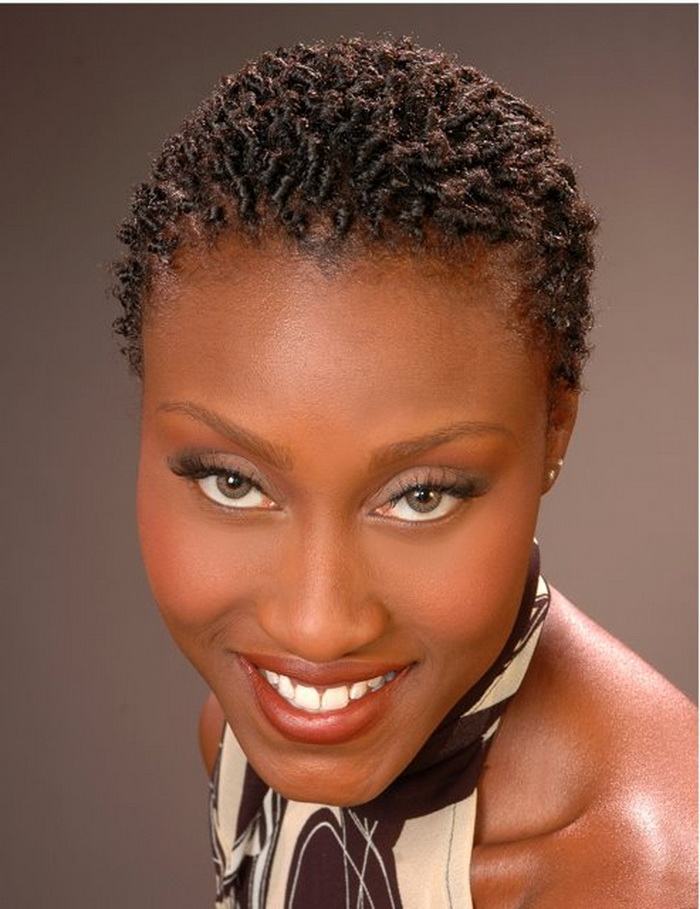 short natural twist hairstyles photo - 1