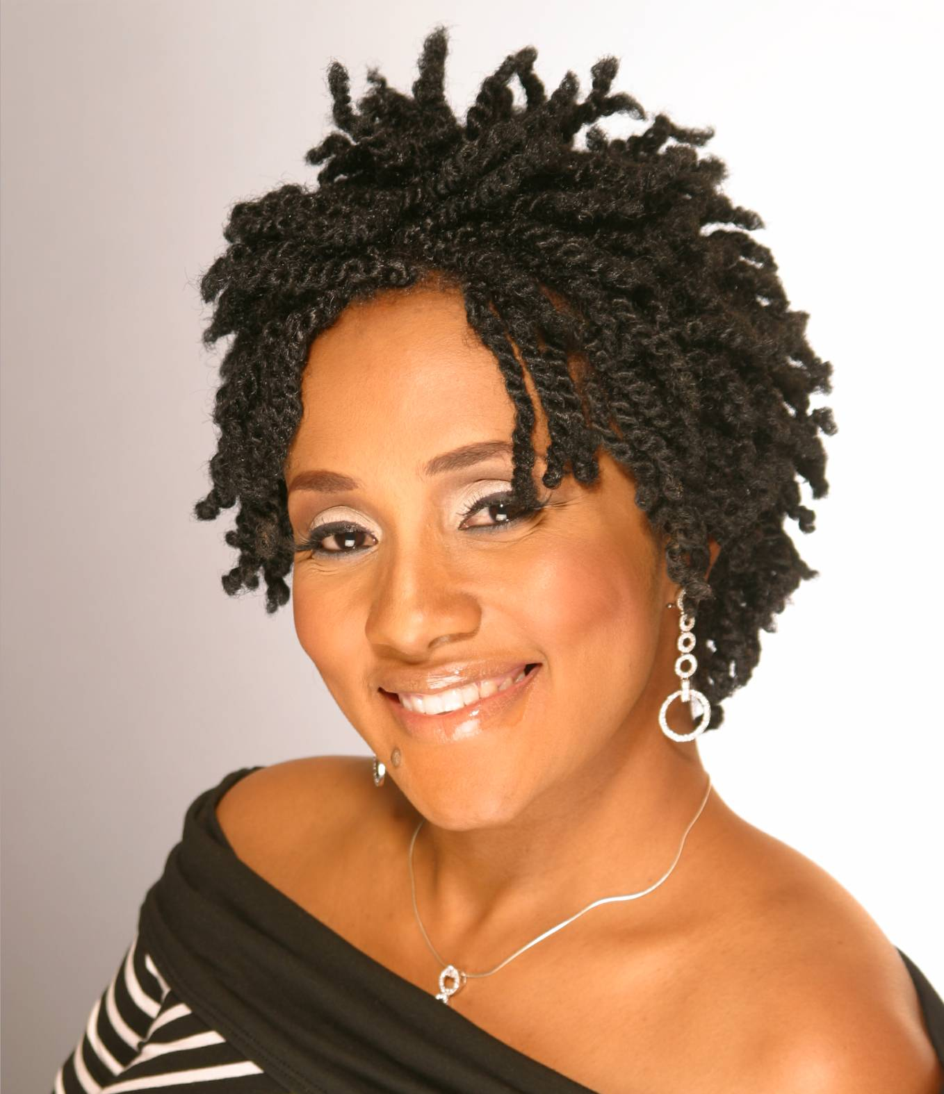 short natural twist hairstyles photo - 4